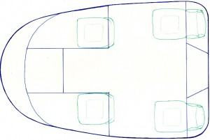 Plan View of BeemCar Pod
